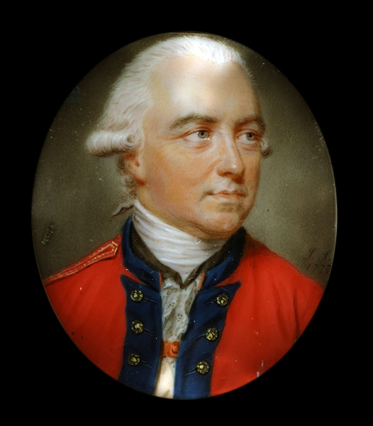 English: General Sir Henry Clinton, Commander ...